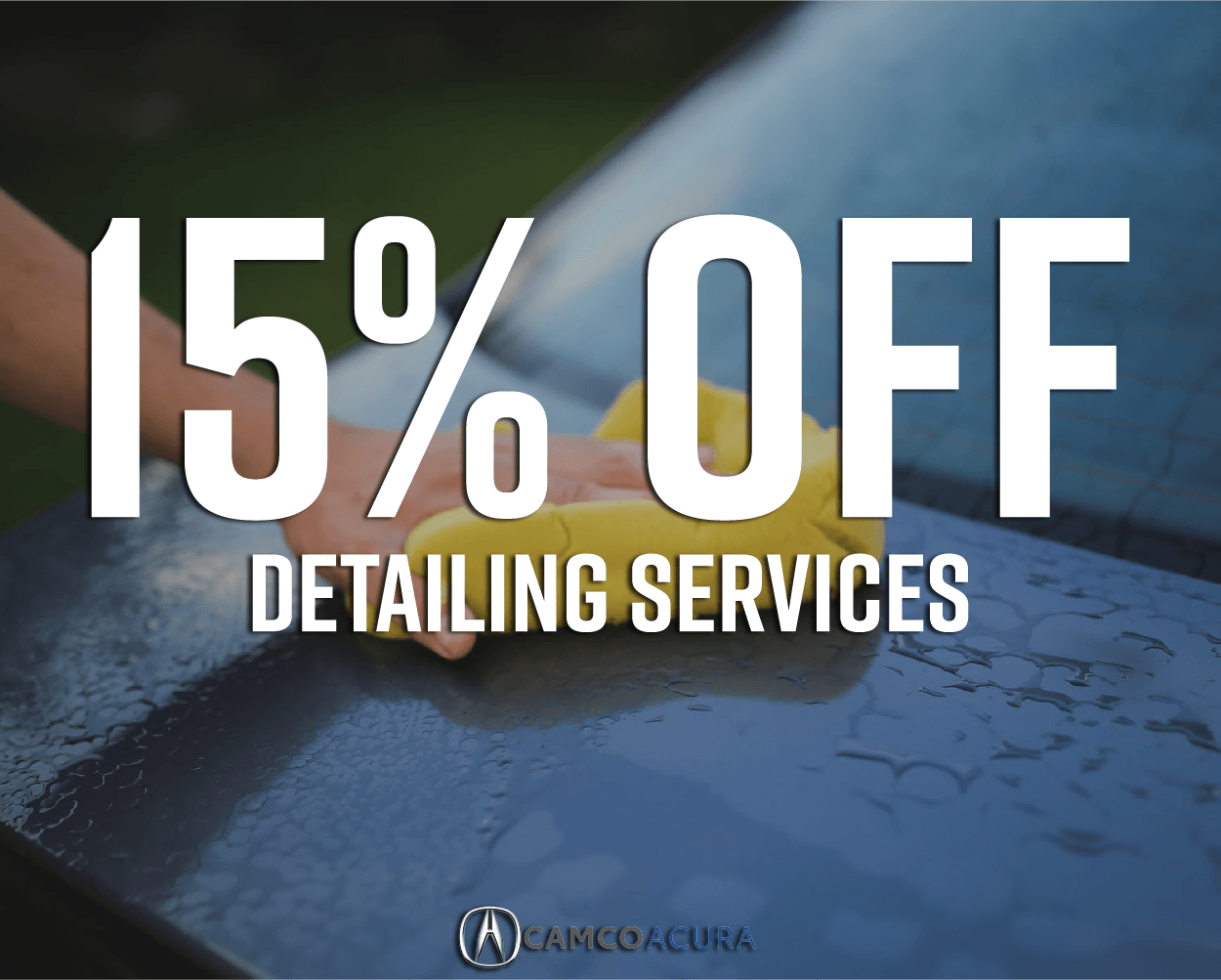 15% Off Detailing Services